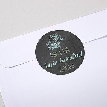 Umschlagssiegel - Ankündigung