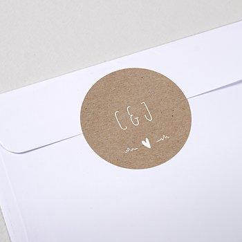 Umschlagssiegel - Rustique