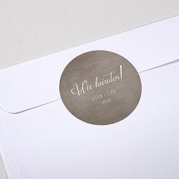 Umschlagssiegel - Liebesknoten
