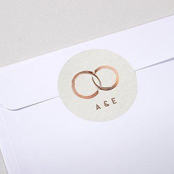 Umschlagssiegel - Edles Ja