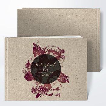 Notizbuch Hochzeit - Flower Art