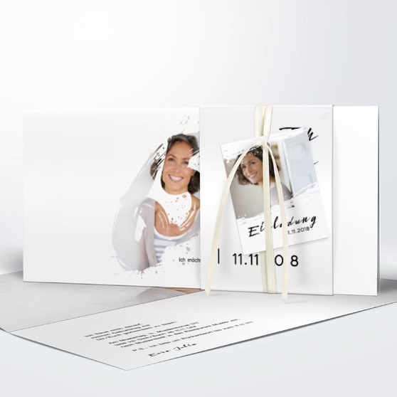 Geburtstagseinladungen - Energie 65