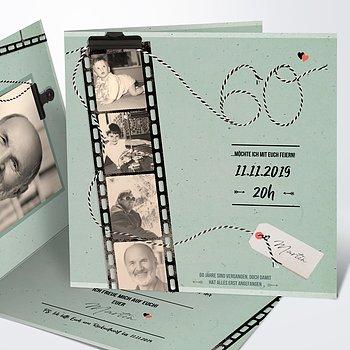 Geburtstagseinladungen - Filmstreifen 60