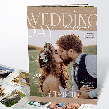 Hochzeitszeitung - Rustique Festschrift