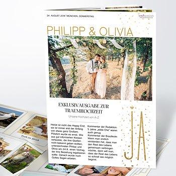 Hochzeitszeitung - Goldsturm Festschrift