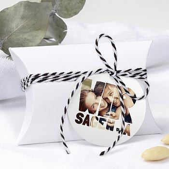 Geschenkanhänger - Liebe durch und durch