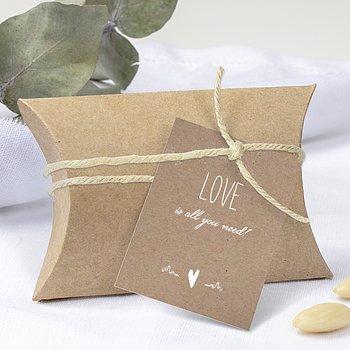 Geschenkanhänger - Rustique