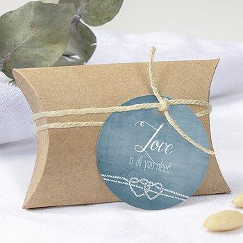 Geschenkanhänger - Liebesknoten