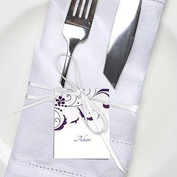 Tischkarten Hochzeit - Garten der Träume