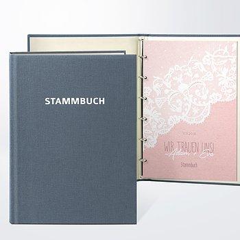 Stammbuch - Pastellspitze
