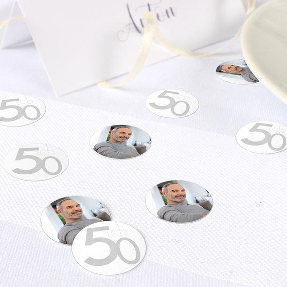 Konfetti Streudeko Geburtstag - Tolle Nummer 50