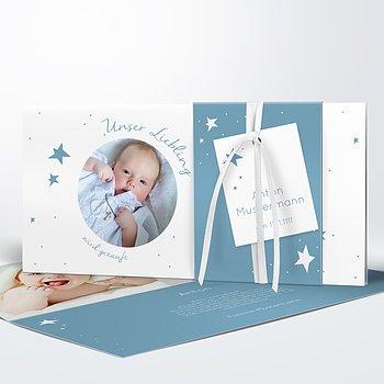 Taufkarten - Baby Star