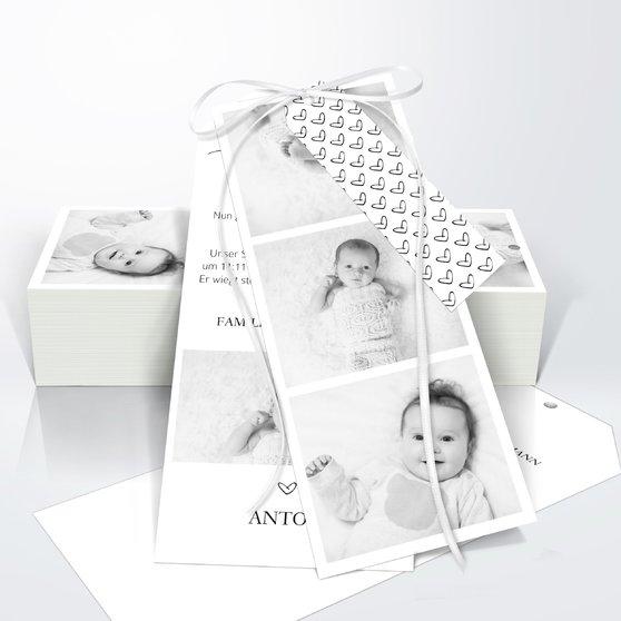 Kleiner Schatz - Kartenset Trio 90x210 - Weiß