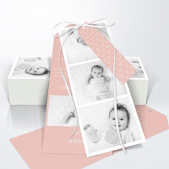 Kleiner Schatz - Kartenset Trio 90x210 - Terrakotta