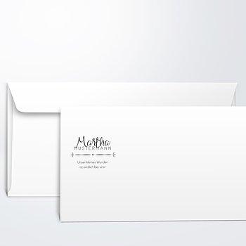 Umschlag mit Design  Baby - Größtes Glück
