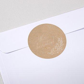 Umschlagssiegel - Zart erblüht