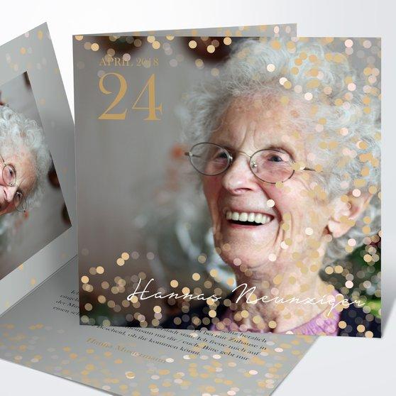 Geburtstagseinladungen - Elfenstaub 90