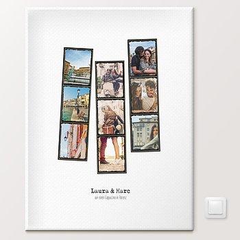 Wandbilder - Pics & Stripes