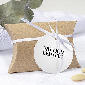 Geschenkanhänger - Das große Wort