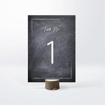 Tischnummern - Tafelglanz