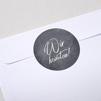 Umschlagssiegel - Tafelglanz