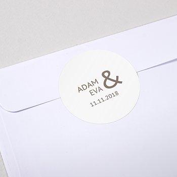 Umschlagssiegel - Einfach Ja