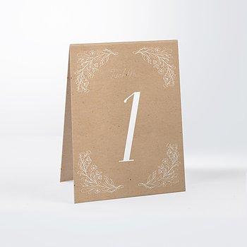 Tischnummern - Zart erblüht