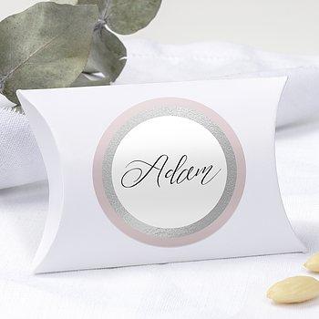 Geschenkaufkleber für Gastgeschenke - Partnerwahl