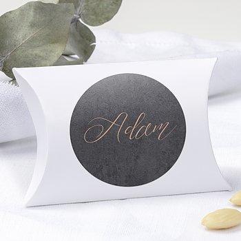 Geschenkaufkleber für Gastgeschenke - Lebenstraum