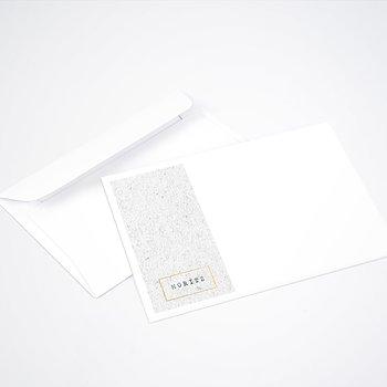 Umschlag mit Design  Baby - Kleiner Stern