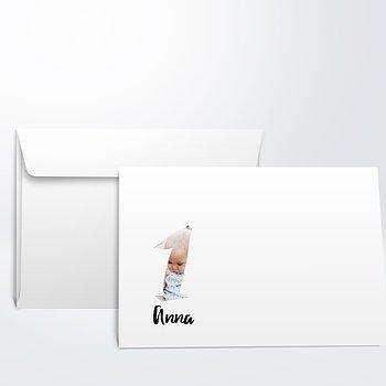 Umschlag mit Design  Baby - Klein wird groß