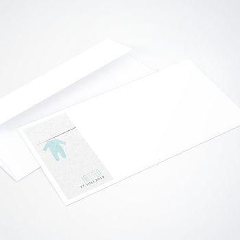 Umschlag mit Design  Baby - Strampler