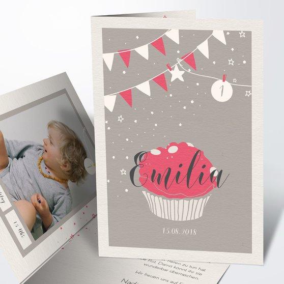 Einladungen für Kindergeburtstag - Süßes Fest