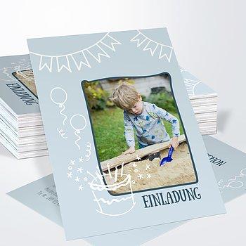 Einladungen für Kindergeburtstag - Party zone