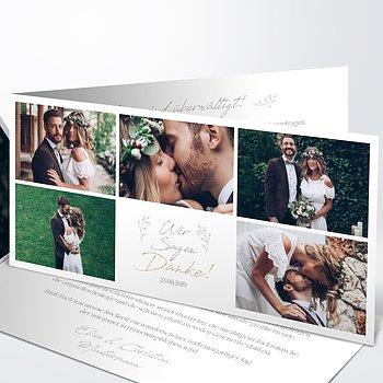 Danksagungskarte Hochzeit - Hochzeitsgeschichten