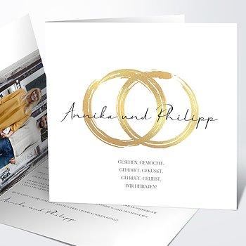 Hochzeitseinladung - Noblesse