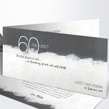 Geburtstagseinladungen - Neuer Anstrich 60