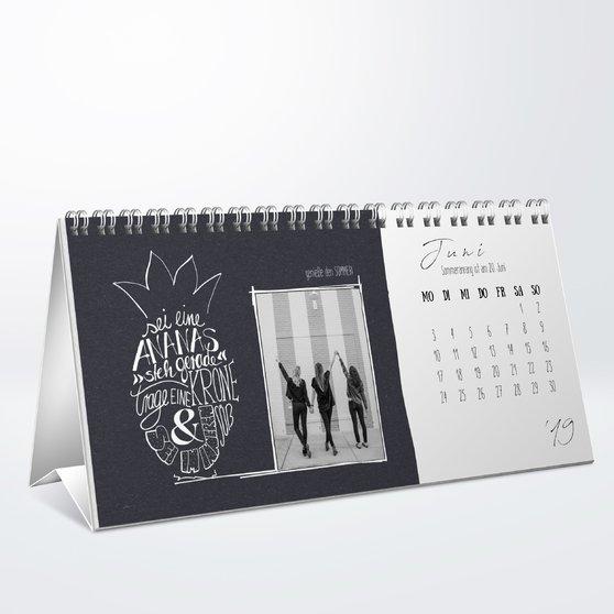 Fotokalender - Sayings Tischkalender