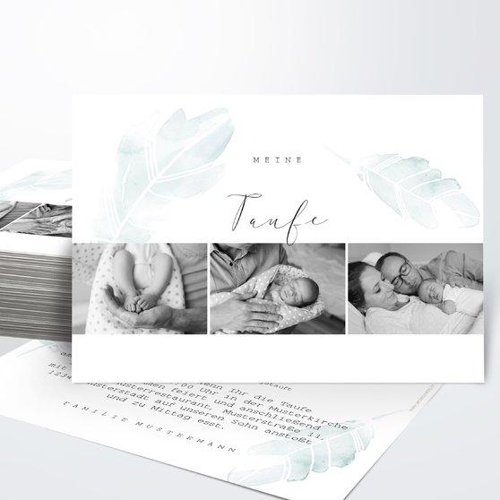 Taufkarten - Bless you