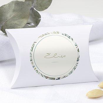 Geschenkaufkleber für Gastgeschenke - Wiesenblume