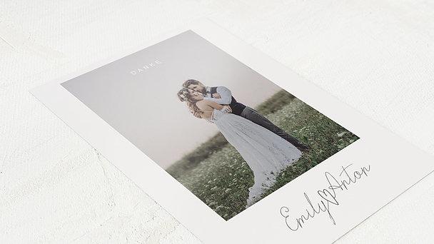 Danksagungskarte Hochzeit - Triumph des Herzens