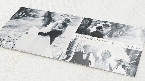 Danksagungskarte Hochzeit - Just wedding