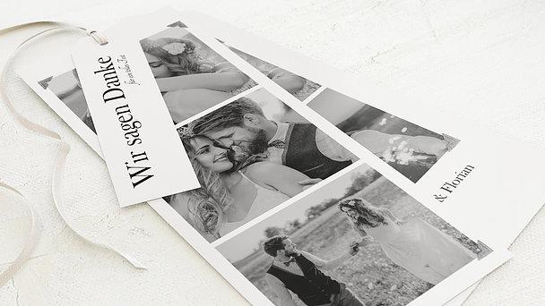 Danksagungskarte Hochzeit - Fotobox