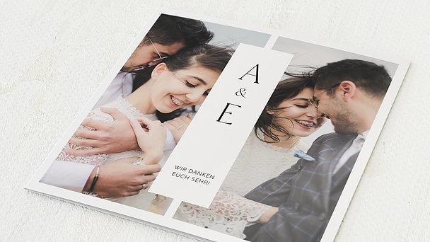 Danksagungskarte Hochzeit - Splendid Wedding