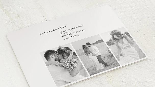 Danksagungskarte Hochzeit - True romance