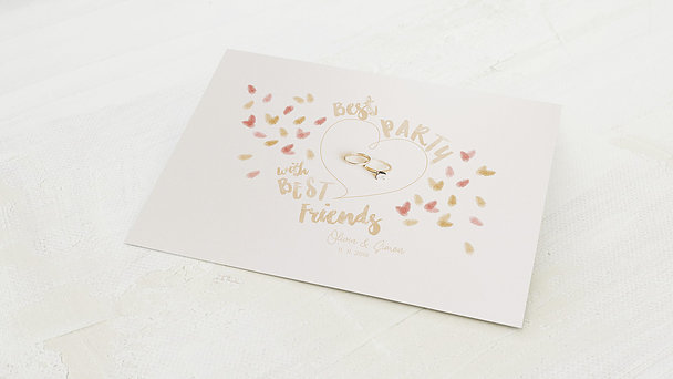 Fingerabdruckposter - Party Prints