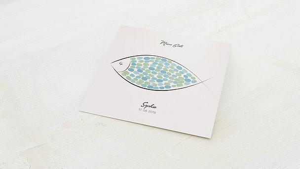 Fingerabdruckposter - Klarer Fisch