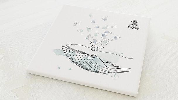 Fingerabdruckposter - Ozeanriese