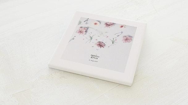 Fingerabdruckposter - Blütensinfonie