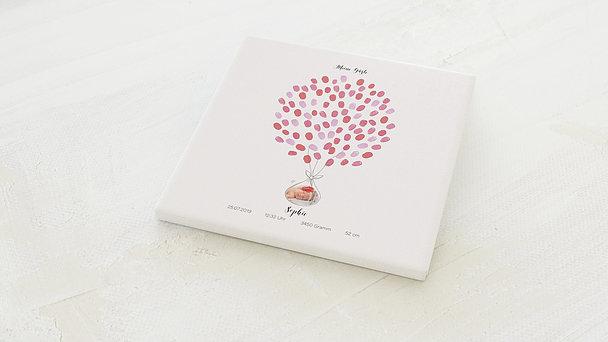 Fingerabdruckposter - Besuch